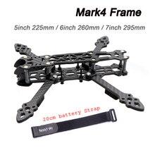 Mark4 Mark 4 5 pollici 225 millimetri/6 pollici 260mm / 7 pollici 295 millimetri w/ 5mm Braccio FPV Telaio Da Corsa Drone Quadcopter FPV Freestyle Per Gallo 230 millimetri