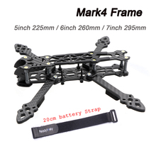 Mark4 Mark 4 5inch 225mm/ 6inch 260mm / 7inch 295mm w/ 5mm Arm FPV Racing Drone Quadcopter FPV Freestyle Frame For Rooster 230mm