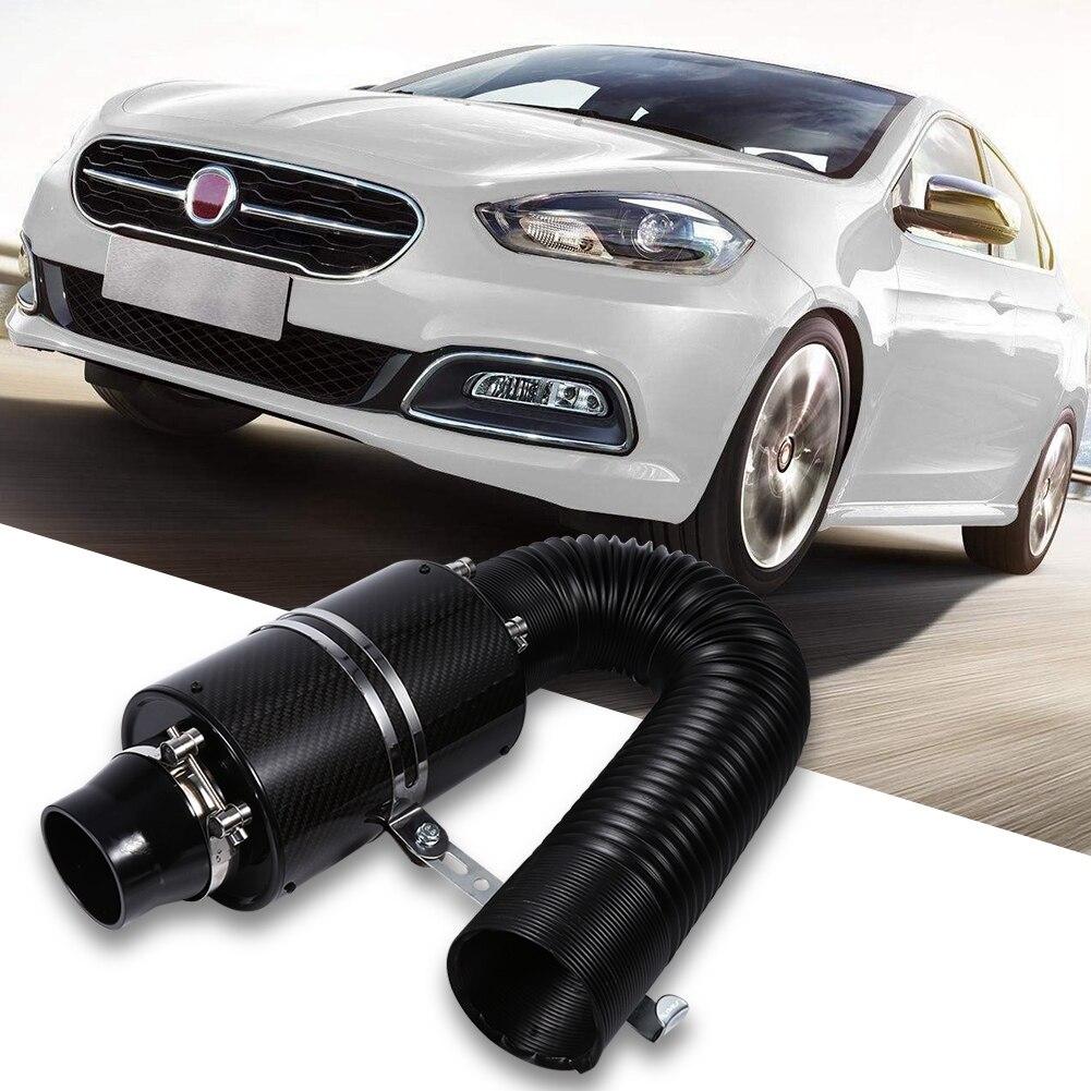 Filtre à Air froid universel en fibre de carbone de 3 pouces pour voiture