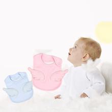 Śliniaki dla niemowląt śliniaki dla niemowląt śliniaki dla niemowląt śliniaczek dla niemowląt różowe skrzydła anioła śliniaczek dla niemowląt śliniaczek dla niemowląt tanie tanio GAOKE Moda Stałe Baby Bandana Bibs Unisex 13-18 M 4-6 M 7-9 M 19-24 M 10-12 M 0-3 M Poliester COTTON