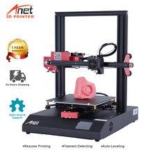 Anet – imprimante 3D ET4 Reprap i3, Kit d'installation autonome, nivellement automatique, reprise d'impression, Support Open Source Marlin