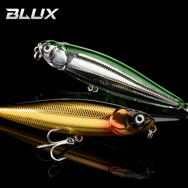 BLUX RIPPLE 87 Topwater Pencil WTD 87mm 9g Surface Fishing Lure Walk The Dog Artificial Saltwater Hard Bait Bass Plastic Walker|Fishing Lures|   -