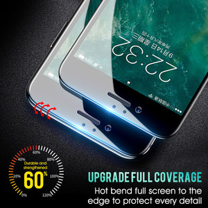 Image 4 - Bảo vệ kính Cho Iphone 11 7 6 6S 8 5S Plus Full dành cho iPhone 11 X XR MAX tấm Kính bảo vệ Màn Hình trên iPhone 11 Pro MAX