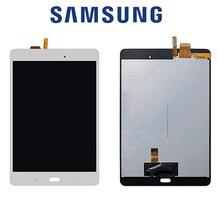 Original digitador da tela de toque com display lcd substituição assembléia completa para samsung galaxy tab 8.0 p350 p355