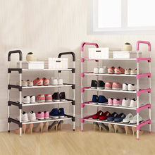 Shoe Rack Multi-Layer Household Assembly Door Shoe Cabinet Simple Dustproof Shelf Modern Hall Cabinet Economy 2020 New