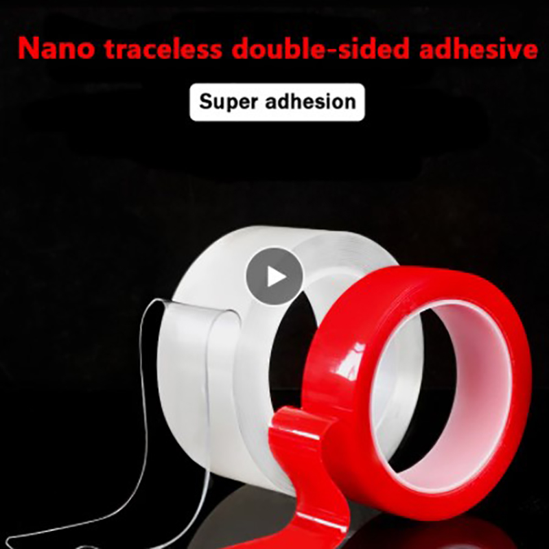 Nano Tape Super Strong Gel Adhesion Responding To The Various Needs Of The Family No Trace High Viscosity Fixed Transparent Tape