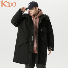Coats Outwear Black Casual Winter Windproof New 5XL Hat Parkas Loose Warm Breathable