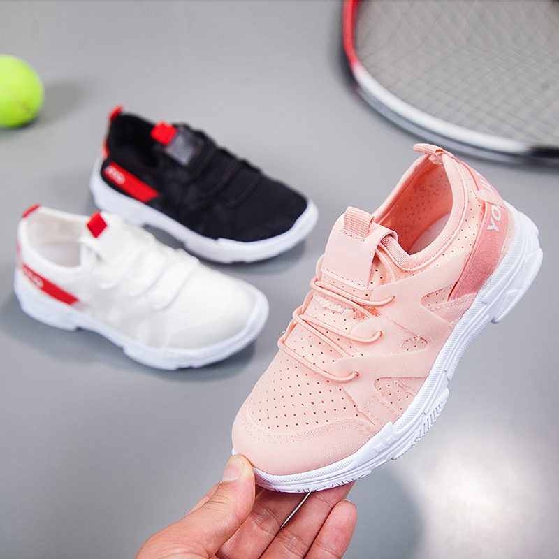 Spring Autumn Kids Shoes 2019 Fashion Casual Children Sneakers For Boy Girl Toddler Baby Breathable Sport Shoes