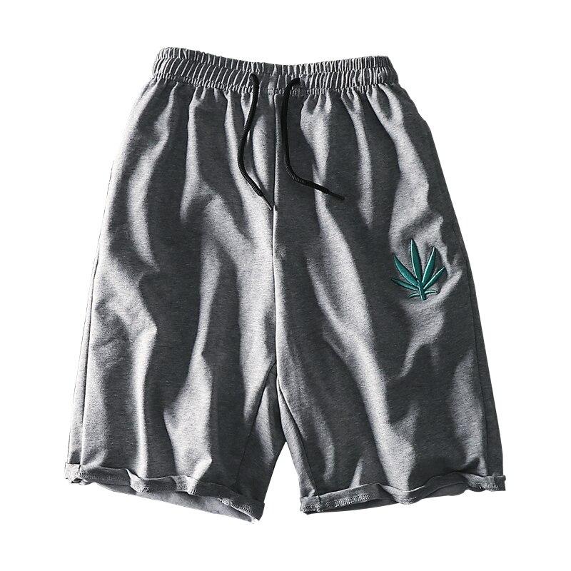 Fashion Men Casual Shorts Vintage Loose Summer Baggy Shorts Hip Hop Cotton Printed Fashion Jogger Roupas Mens Clothing XX60MS