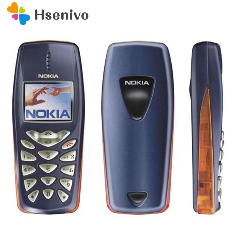 Refurbished Nokia 3510 3510i Cheap Gift Phone 2G GSM Dualband Classic Mobile Phone Russian Keyboard Refurbished