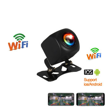 New Arrival!!! WIFI HD Car Reverse Camera Wireless Car Rear View Camera for IOS and Android Phone With Video Recording Function 1