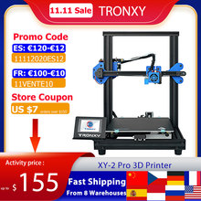TRONXY XY 2 Pro 3D Printer Kit Fast Assembly 255*255*260mm Build Volume Auto Leveling Resume Print Filament Run Out Detection