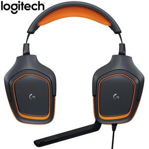 Image 3 - Logitech G231 STEREO GAMING MICROFOON HEADSET Ruisonderdrukkende MICROFOON Op de Kabel 3.5mm voor Video Game Dynamische Headset
