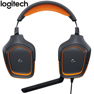 Image 3 - Logitech G231 סטריאו משחקי אוזניות מיקרופון מבטל רעשי מיקרופון על כבל 3.5mm עבור וידאו משחק דינמי אוזניות