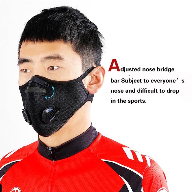 Μάσκα προστασίας activated carbon pm 2. 5 respirator