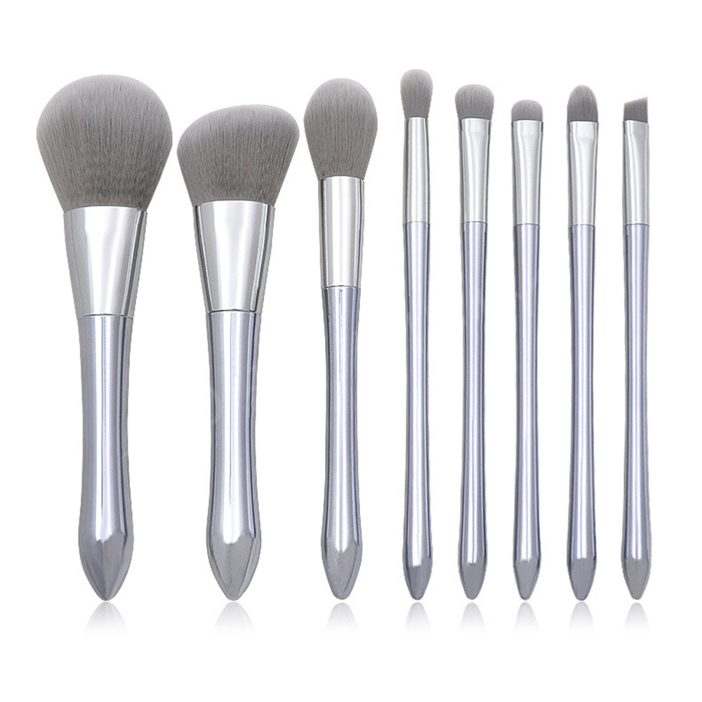 8Pcs Luxury Makeup Brush Set Foundation Cream Blush Eye Shadow Concealer Lip Wye Cosmetics Beauty Tools