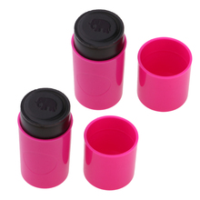 2 Piece ABS Plastic Colorfast Quick-dry Golf Ball Stamp Stamper Marker Impression Seal Symbol