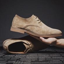 Merkmak/Модная Повседневная обувь в английском стиле; мужские туфли-оксфорды из флока; свадебные кожаные модельные мужские туфли на плоской подошве из водонепроницаемого материала; большие размеры