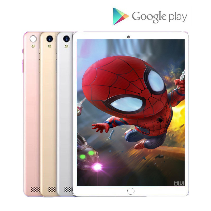 6GB+128GB ROM 10 Inch Tablet PC Google Play 4G LTE Android 9.0 Octa Core WiFi GPS Tablets 10.1 IPS Dual SIM