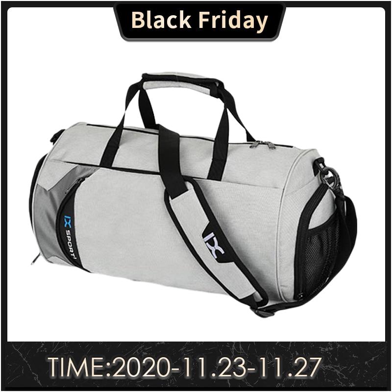 Gym-Bags Separation-Bags Sac-De-Sport Fitness-Training Travel Multifunction Outdoor Men