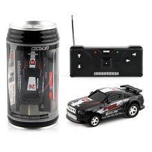 2019 Hot 4 Colors 20Km/h Coke Can Mini RC Car Radio Remote C