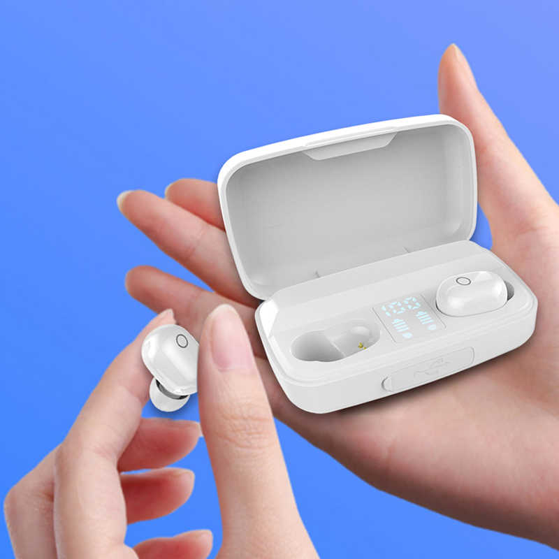Cigfun Wireless Headset Anc Headphone Bluetooth 5 0 Sport Neckband Headphones With Mic Active Noise Cancelling Headset Neckband Headphones Bluetooth Headphones