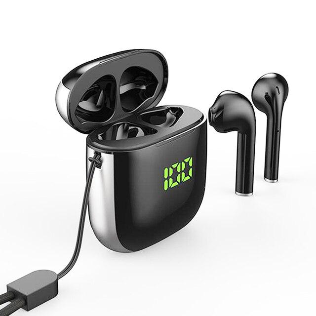 Original WK60 Wireless Earphones Bluetooth 5.0 Earphones TWS Noise Cancelling Headset Digital display Sports Earphone With Mic