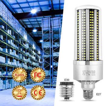 Led Corn Light E27 Bombilla E39 Led Bulb Fan Corn Lamp 220V Led Light SMD2835 High Power Indoor Lighting 80W 100W 120W 150W 200W - DISCOUNT ITEM  15 OFF Lights & Lighting
