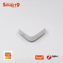 Capteur de température et dhumidité Smart9 ZigBee fonctionnant avec le Hub TuYa ZigBee, télécommande dapplication de vie intelligente alimentée par TuYa