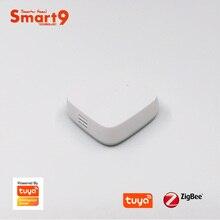 Smart9 زيجبي استشعار درجة الحرارة والرطوبة العمل مع تويا زيجبي هاب ، الحياة الذكية App التحكم عن بعد مدعوم من تويا