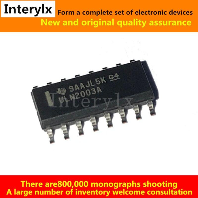 10 шт. uln2003ader ULN2003A 2003 SOIC-16 Darlington Транзисторы NPN IC chip