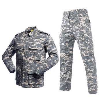 US Army Suit Adult Male Military Uniform Airforce Desert Jungle Outdoor Hunting Costumes ACU Camo Camouflage Combat Jacket men jungle outdoor tactical military combat uniform camouflage suit hunting long sleeve jacket long pants trousers set clothing