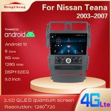 Para nissan teana j31 2003-2007 230jk jm leitor de vídeo multimídia inteligente rádio navegação gps para reter o carro original c