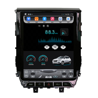 12.1 tesla style vertical screen Octa core Android 8.1 Car stereo GPS navigation for Toyota Land cruiser 2016 2017