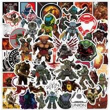 Autocollants de jeu Doom: éternité, 10/30/50 pièces, autocollants pour ordinateur portable, guitare, bagage, Skateboard, vélo, étanche, Cool, Graffiti, jouets pour enfants