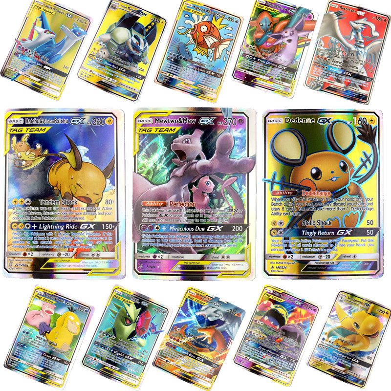 high-quality-children-toy-english-gx-font-b-pokemones-b-font-cards-toys-card-game-battle-carte-trading-energy-charizard-collection-card