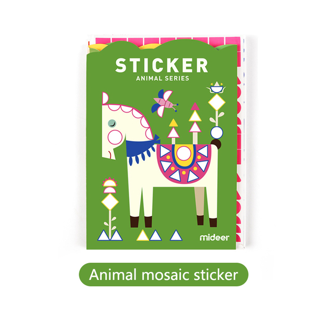 Mideer-Baby-Sticker-Toys-3Y-Creative-Geometric-Observed-105CM-Mosaic-Imagine-Animals-Ocean-Art-Decoration-DIY