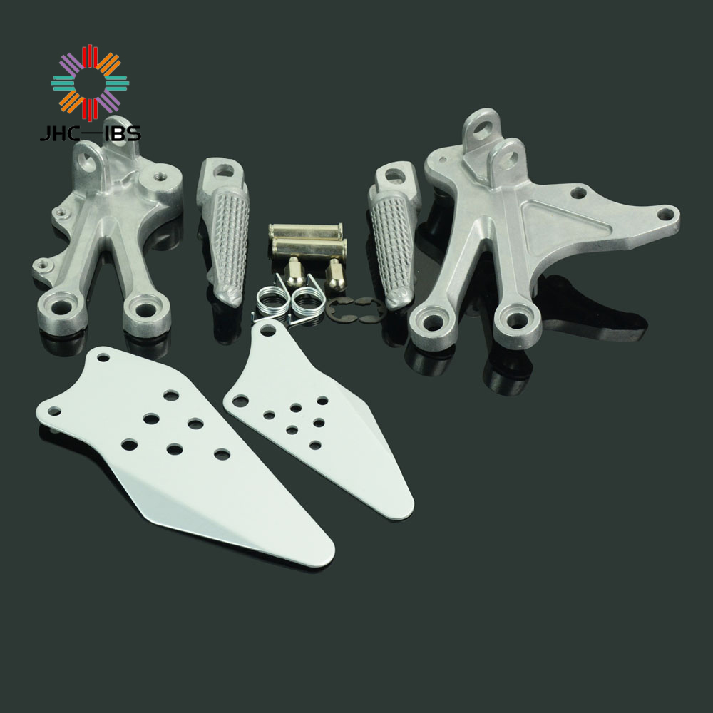 Motorcycle Footrests Front Foot Pegs Pedals Rest Footpegs For Kawasaki ZX10R ZX 10R ZX-10R 2004 2005 04 05