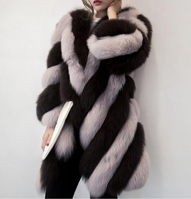 Autumn And Winter Fashion New Suede Mink Fur Coat Quilt Imitation Suede Coat Mink Long Hooded Women's Clothing