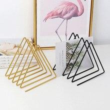 Organizer Decorative-Shelf Bookshelf Office-Accessories Magzine-Holder Desktop-Storage