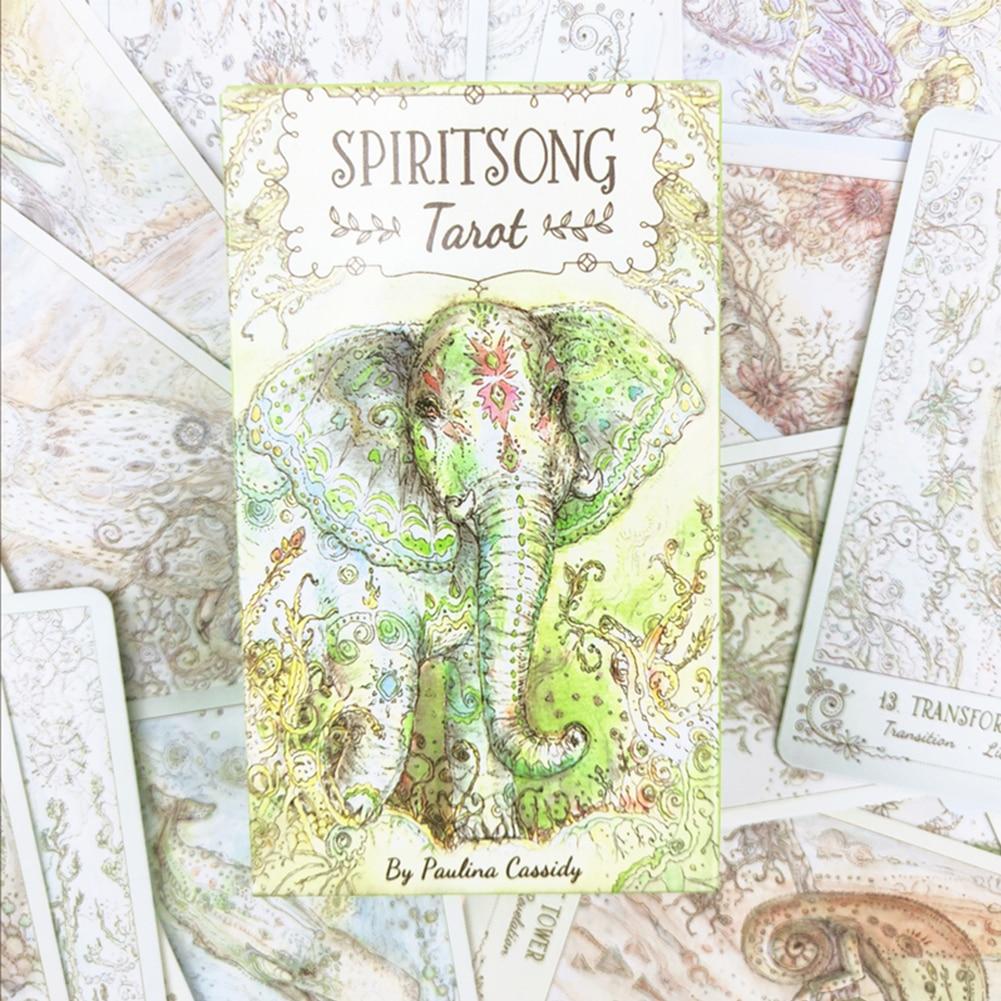 Spiritsong Tarot 78 English Tarot Cards 40FP27