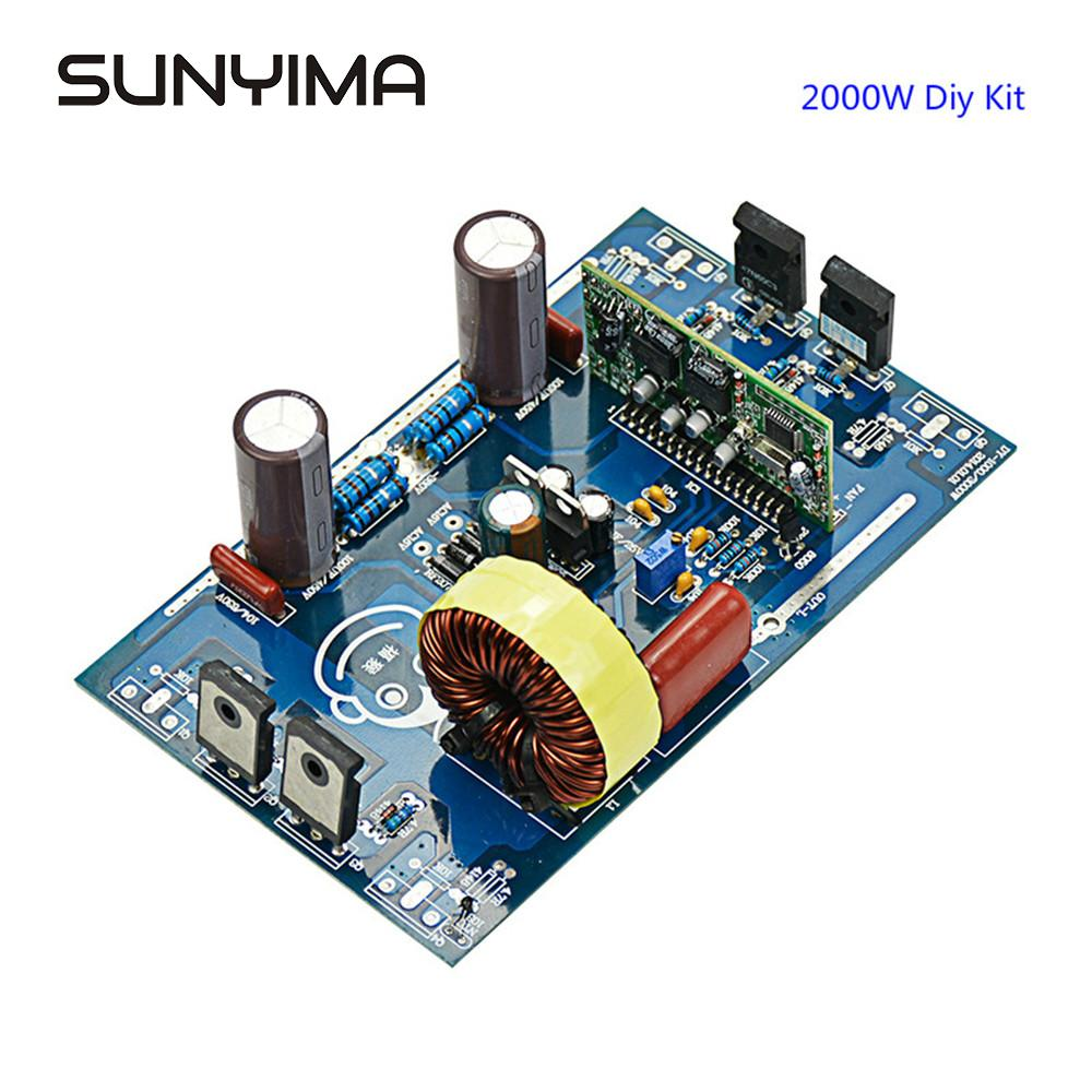 SUNYIMA Updates 2000W Reine Sinus Welle Inverter Power Board Post Sinus Welle Verstärker Bord DIY Kits