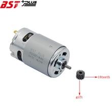 RS550Motor14Teeth (9 10 11 12 13 15 17 24T) (7.2 9.6 10.8 12 14.4 16.8 18 25V)Gear3mmShaft Voor Draadloze Lading Boor Schroevendraaier