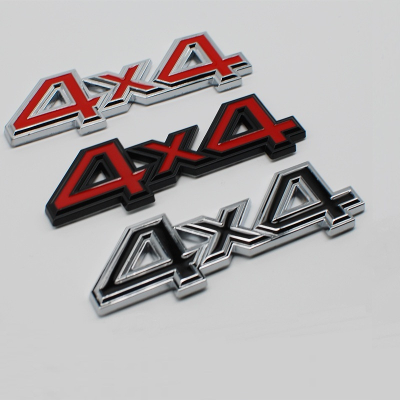 3d metal 4x4 carro auto adesivo 4 drive emblema emblema para jeep patriot wrangler grand cherokee bússola prado estilo do carro Adesivos para carro    -