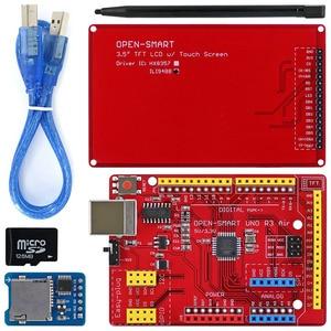 Image 2 - เปิดสมาร์ท 3.5 นิ้ว 480*320 TFT LCDโมดูลชุดพร้อมปลั๊กUNO r3 Air BoardสำหรับArduino UNO R3 / Nano