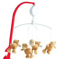 Xingmeng Moonlit Infant Bed Bell Infant Whirligig Toy Baby Music Rattle