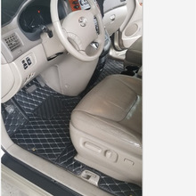 Car-Floor-Mats 2009 2008 Toyota Sienna 2007 2006 2005 for 2004/2005/2006/.. Carpets 3-Row-Liner-Set