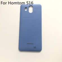 "Homtom S16 Used Protective Battery Case Cover Back Shell High Quality For HOMTOM S16 MTK6580 Quad 5.5"" 1280 x 640 Smartphone(China)"