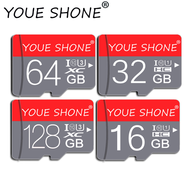 Con SD gratuita adaptador De tarjeta De memoria microsd De 128GB 32GB 64GB sd 16GB 8GB SDXC SDHC Micro tarjeta sd; De Memoia para teléfono