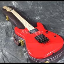 2019 Hot Sell Reverse Standard Electric Guitar Z-WS5 FR Bridge Red Color Maple Neck цена в Москве и Питере
